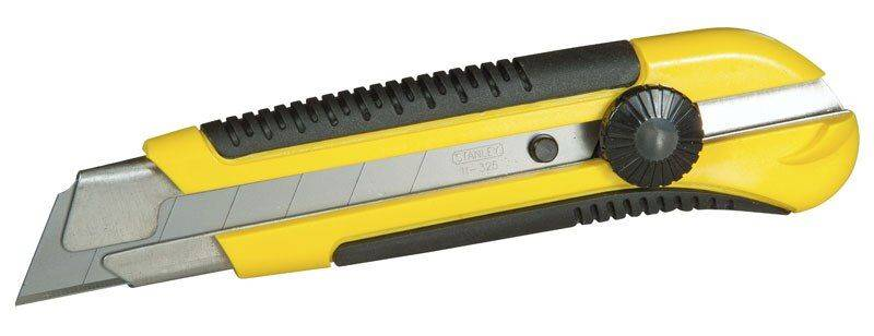 Cutter - Gamme professionnelle - Lame 25 mm - Marque Stanley