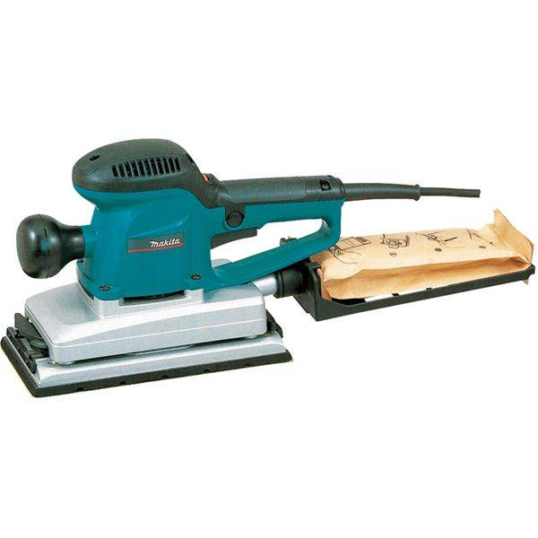 Ponceuse vibrante 330W - 10000orb/mn - 115 x 280mm -osc. 2,6mm - 2,7kg - Makita