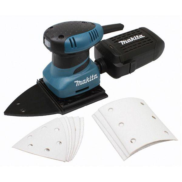 Ponceuse vibrante 200W - 14000orb/mn - 114 x 102mm - osc. 1,5mm - 1,2kg - Makita